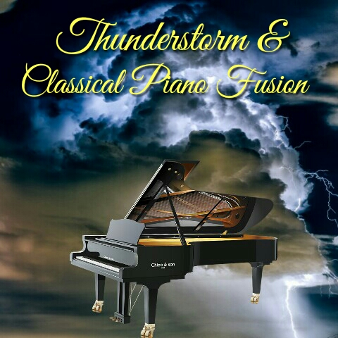 Thunderstorm & Piano Mp3 Music Download | Music2relax com